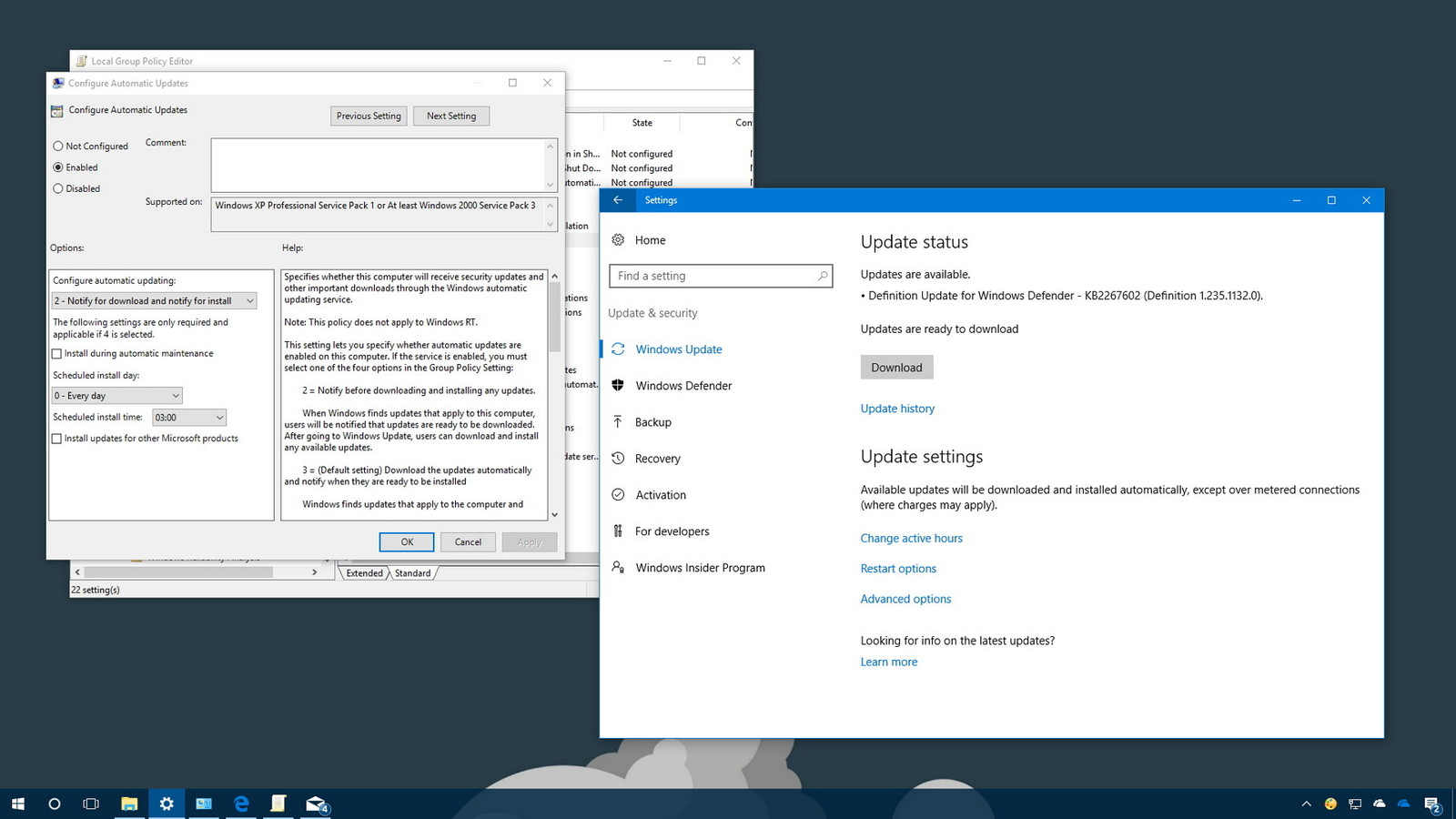 How to stop Windows 10 auto updates
