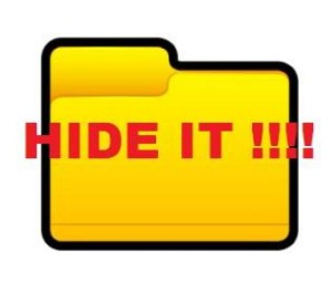 How to hide Windows directory